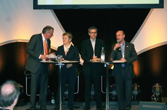 Podiumsdiskussion mit Renate Künast, Invest2009