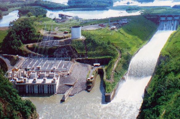 Daule Peripa (213 MW) in der Region von Guayaquil