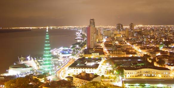 Guayaquil ist das wirtschaftliche Zentrum Ecuadors
