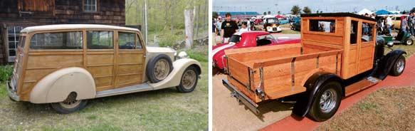 1932er Rolls Royce und 1930er Ford