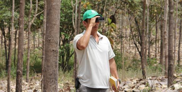 Dr. Diego Perez, Teakexperte und Forstdirektor der Life Forestry Group
