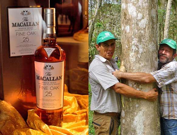 Schottischer Single Malt und Life Forestry Teak