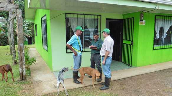 Verwaltungs- und Wohngebäude auf 'Santa Lucia'