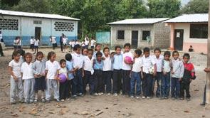 Schulklasse von Puebloviejo
