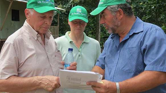 Planung der Plantagenbesichtigung