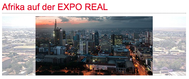 Die weltweit grösste Fachmesse für Immobilien und Investments veranstaltete ein eigenes Programm zum Immobilienmarkt in Afrika. Bild: Expo Real